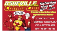 Asheville Comic Con 2019