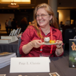 Author Paige L. Christie at World Fantasy Conference 2018