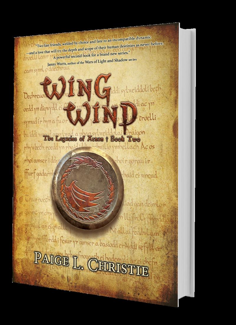 Wing Wind - The Legacies of Arnan: Book 2 - Hardcover