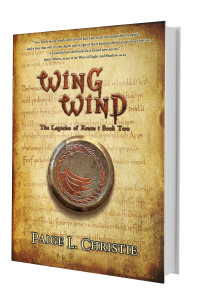 Wing Wind - The Legacies of Arnan: Book 2 - Hardcover